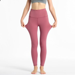 Women Yoga Pants High Waisted Leggings with Pockets Tummy Control Workout Leggings Running Tights