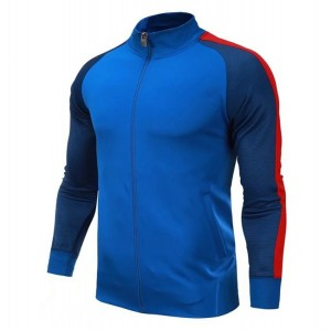 Training Jackets Custom Satin Sports Jackets Soccer Uniform Sublimation Printing Football Jersey