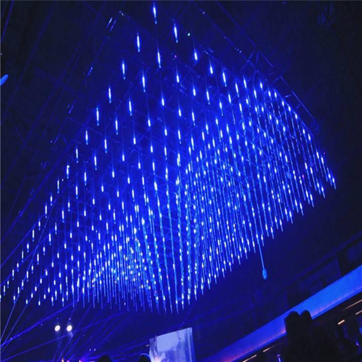 Night club synchronously and led falling star lights