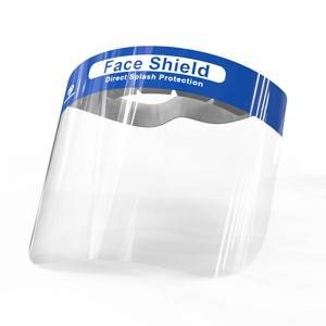 ORIENTMED Transparent PET Flip Up Anti Fog Face Shield with CE ISO FDA