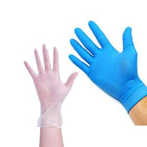 Medical Nitrile/PVC Gloves