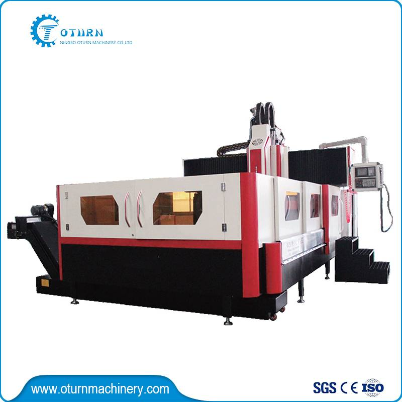 Fixed Beam CNC Drilling and Milling Machine