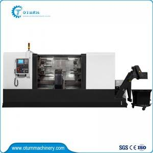 Bottom price Cnc Sheet Drilling Machine - Center Drive lathe For Supporting Roller – Oturn