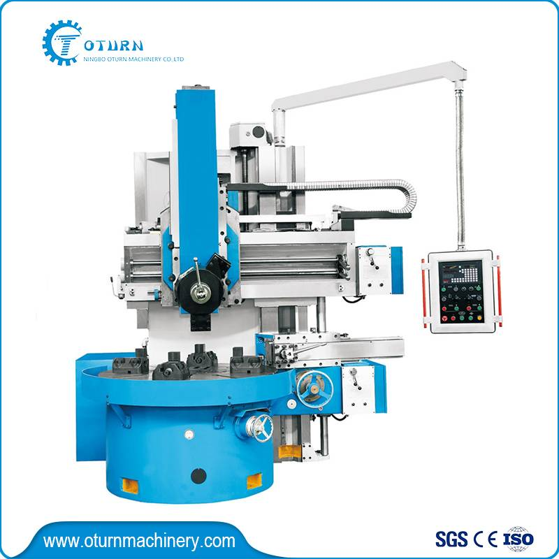 Manual Single Column Vertical Turret Lathe