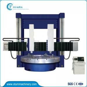 Manual Double Column Vertical Turret Lathe