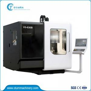 OEM Customized Cnc Plate Drilling Machine - 5-axis Machining Center – Oturn
