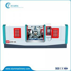 Factory Promotional Double Spindle Cnc Lathe - Turning Drilling And Tapping Combined Machine – Oturn