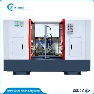 Factory source Cnc Double Column Vertical Turret Lathe - Two Side Drilling Machine – Oturn