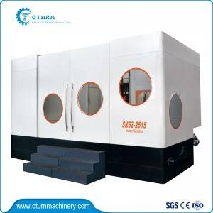 Discount wholesale Cnc Deep Hole Drilling Machine - Dual Heads Six Axis Deep Hole Drilling Machine – Oturn