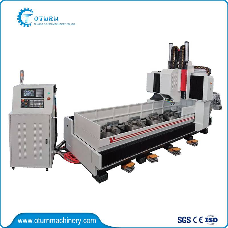 Four Station Shaft Flange Drilling Machine