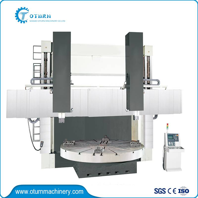 CNC Double Column Vertical Turret Lathe