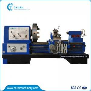 Manual Pipe Threading Lathe