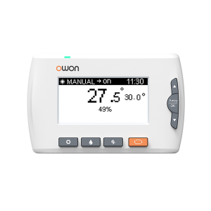 New Fashion Design for Zigbee Home Security System - ZigBee Combi boiler EU smart Thermostat temperature controller 502 – Owon