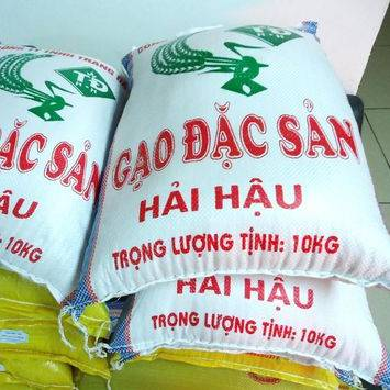 Vietnam White Yellow Green Blue Fertilizer Flour Rice Feed packing PP woven bag manufacturer polypropylene 25 50kg