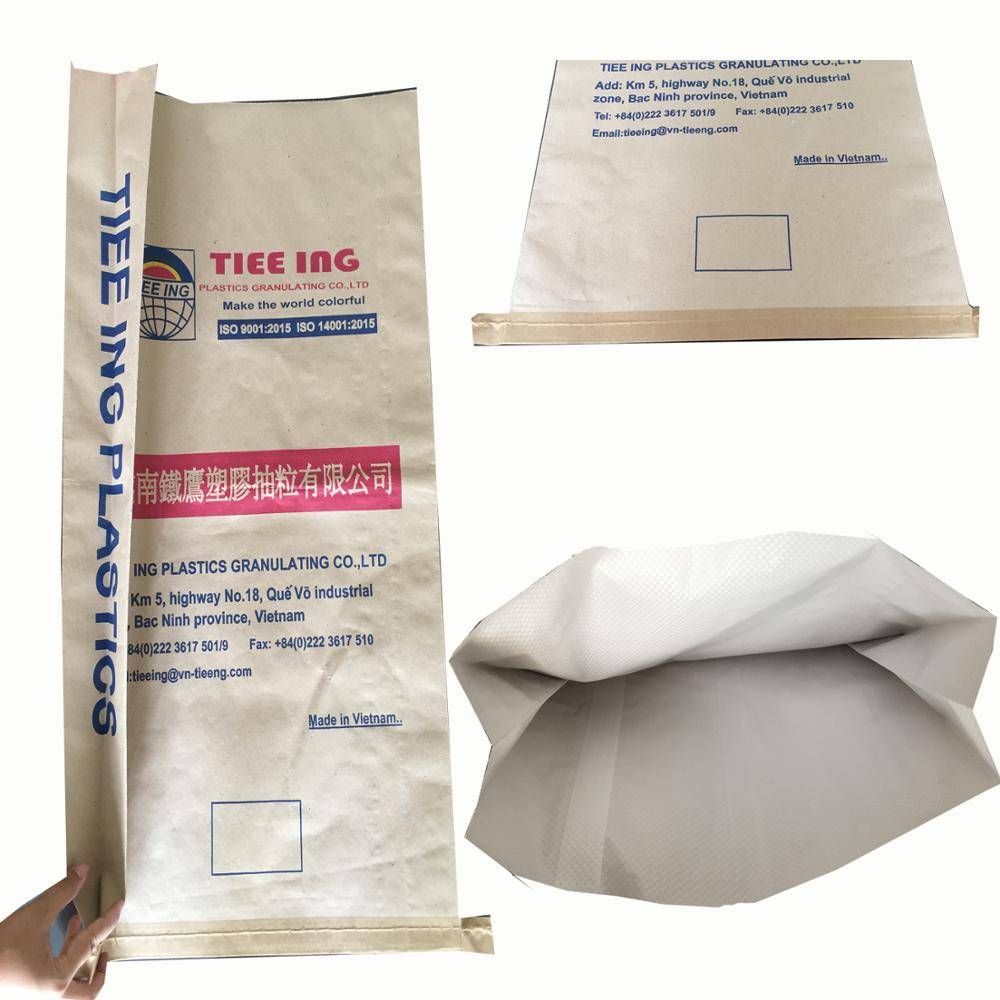 KRAFT PAPER WITH LAMINATED PP WOVEN BAG FOR CORN, RICE