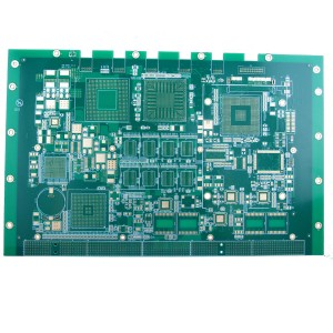 Factory Promotional Flexible Pcb Fabrication - 12 layer high tg FR4 PCB for Embedded System – Pandawill