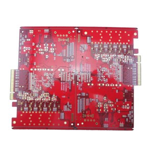 New Delivery for Analog Pcb Layout Guidelines - 14 layer circuit board red solder mask – Pandawill