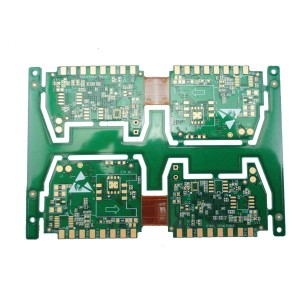 Special Price for Hasl Lead Free Circuit Board - 4 layer rigid flex circuit board for automotive – Pandawill