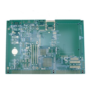 HDI Circuit board for embedded system