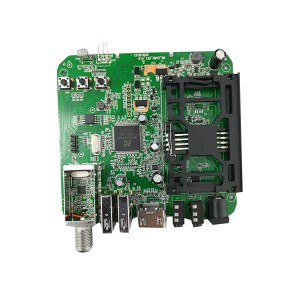 Video Decoder Circuit PCB Assembly