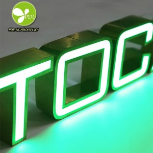 Shop LED Sign Outdoor Illuminated Signage Front Lit Logo Channel Letter Signs