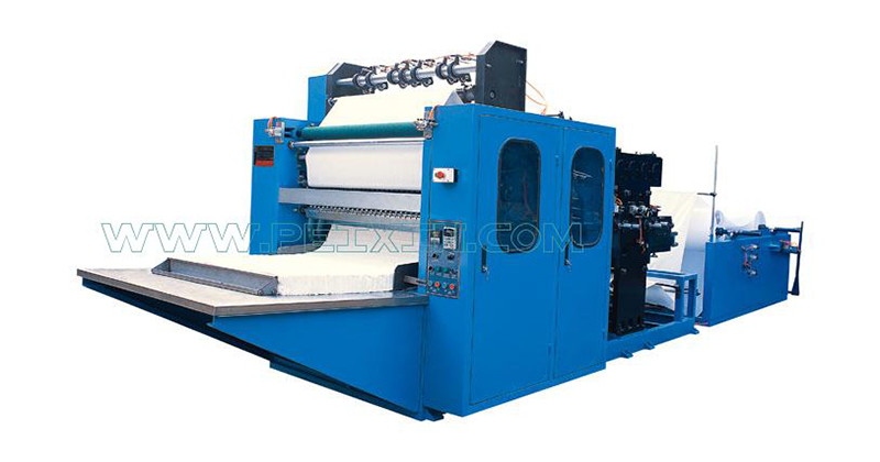 New Arrival China Underpad Machine - Automatic Box-drawing Face Tissue Machine – Peixin