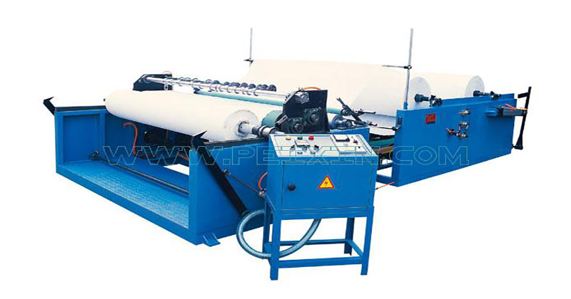 New Arrival China Servo Control Pad Machine - Cutting and Rewinding Machine – Peixin