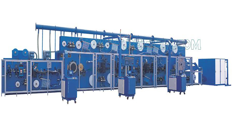 Chinese Professional Kitchen Towel Machine - Full-servo Control Horizonal Panty Liner Production Line – Peixin