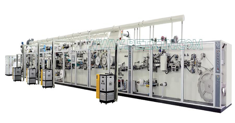 2019 Good Quality Sanitary Napkin Production Line - Full-servo Control Sanitary Napkin Production Line – Peixin