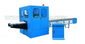 Good quality Servo Control Underpad Machine – High-speed Log Saw Machine – Peixin