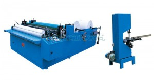 Manufacturer for Lady Pad Machine - Series of Embossing Rewinding and Perforating Toilet Paper Machine – Peixin