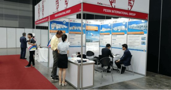 Peixin participated in ANDTEX 2019 in Bangkok, Thailand
