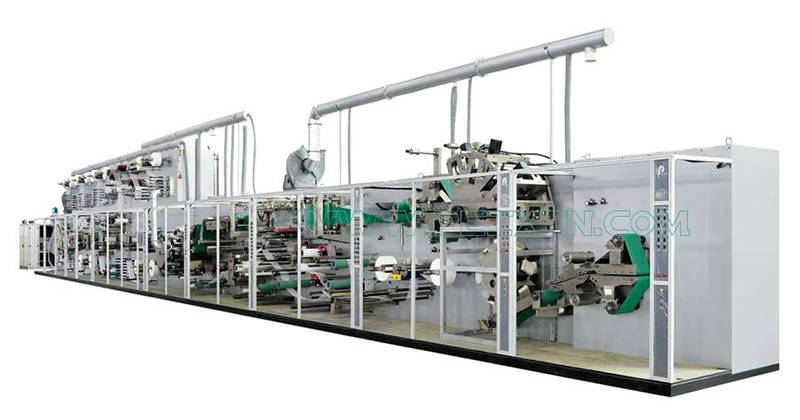 18 Years Factory Diaper Machine Manufactures - Full Servo Control Pull-ups Baby Panty Production Line – Peixin