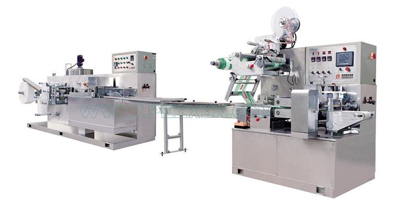 Manufacturer for Full Servo Automatic Napkin Production Line - 5-30 Pieces Wet Wipe Folding And Packing Machine – Peixin
