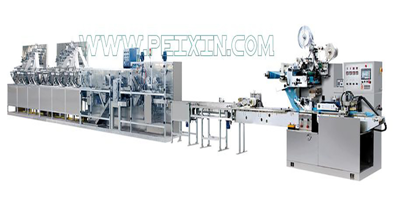 Reasonable price Mini Pad Production Line - 30-120 Pieces Full Auto Wet Wipe Production Line – Peixin detail pictures