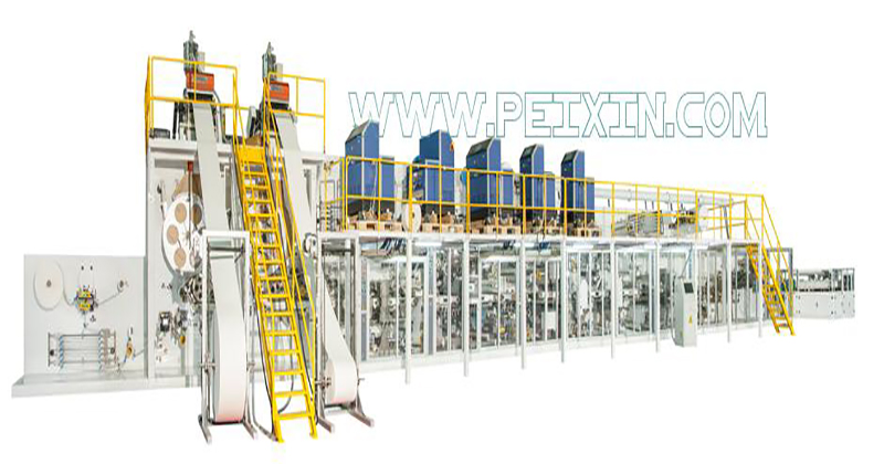 Cheapest Price Used Diaper Machine Diaper Machine - Full-servo Control Full-function Adult Diaper Production Line – Peixin