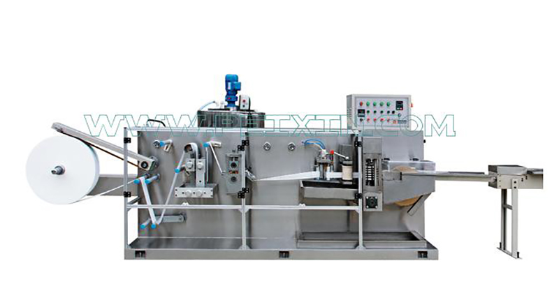 2019 China New Design Lady Pad Machine - 5-20 Pieces Wet Tissue Folding Machine – Peixin