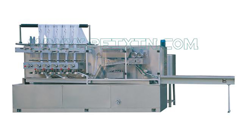 High definition Panty Liner Production Line - 80 Pieces Automatic Wet Tissue Folding Machine – Peixin