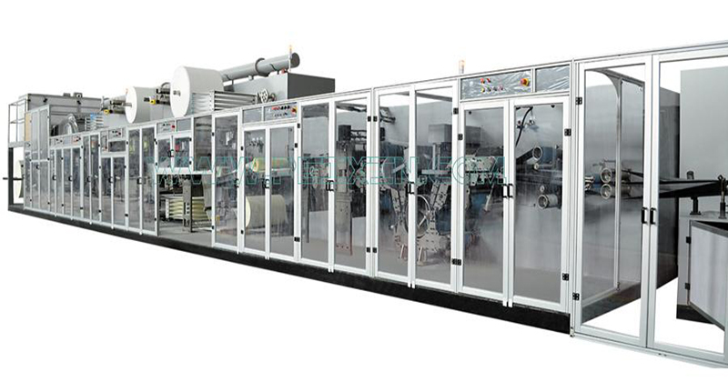 China Cheap price Hygienic Machine - Full-servo Control Underpad Production Line – Peixin