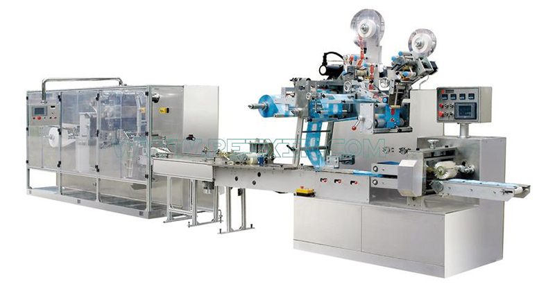 2019 High quality Napkin Paper Machine Line - 5-20 Pieces Full Auto Wet Wipe Production Line – Peixin