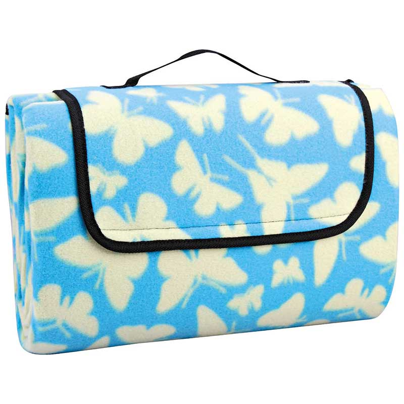 Lowest Price for Cool Bag And Picnic Blanket - Polyester fleece picnic mat blanket with waterproof backing – Picvalue