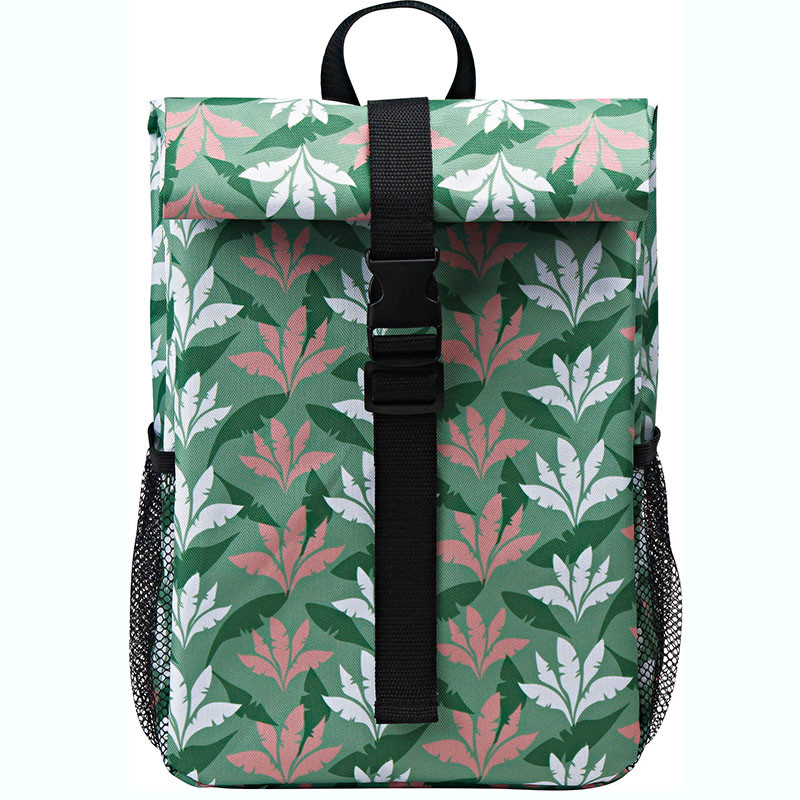 Factory best selling Insulated Leak Proof Cooler Bag - Polyester fabric cooler backpack with fashion spring summer pattern design – Picvalue