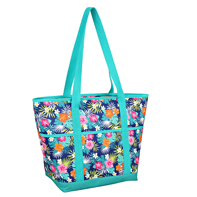 Factory directly supply Hot Cold Cooler Bag - Polyester shopping cooler bag for beach – Picvalue
