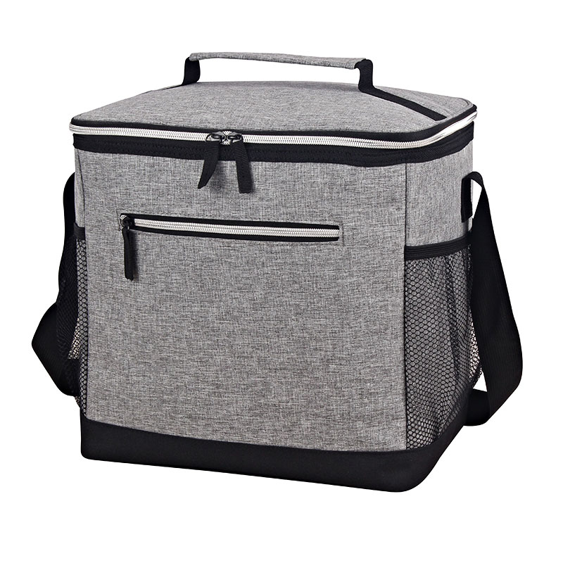 OEM Factory for Insulated Beach Tote Cooler Bag - Matt cationic polyester Insulated cooler bag middle size – Picvalue
