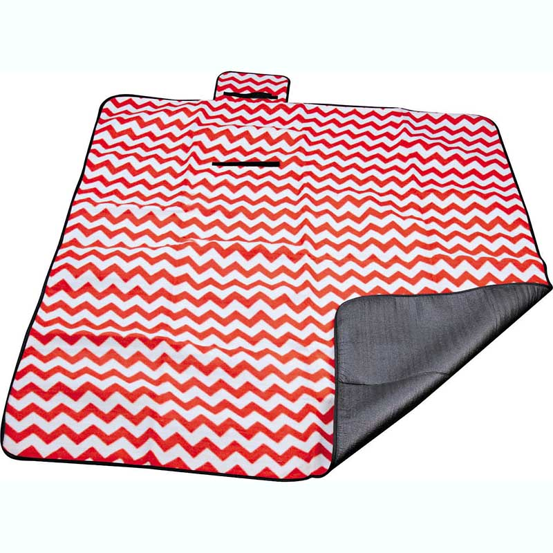 Personlized Products Extra Large Waterproof Picnic Blanket - Polyester fleece picnic mat blanket with waterproof backing – Picvalue
