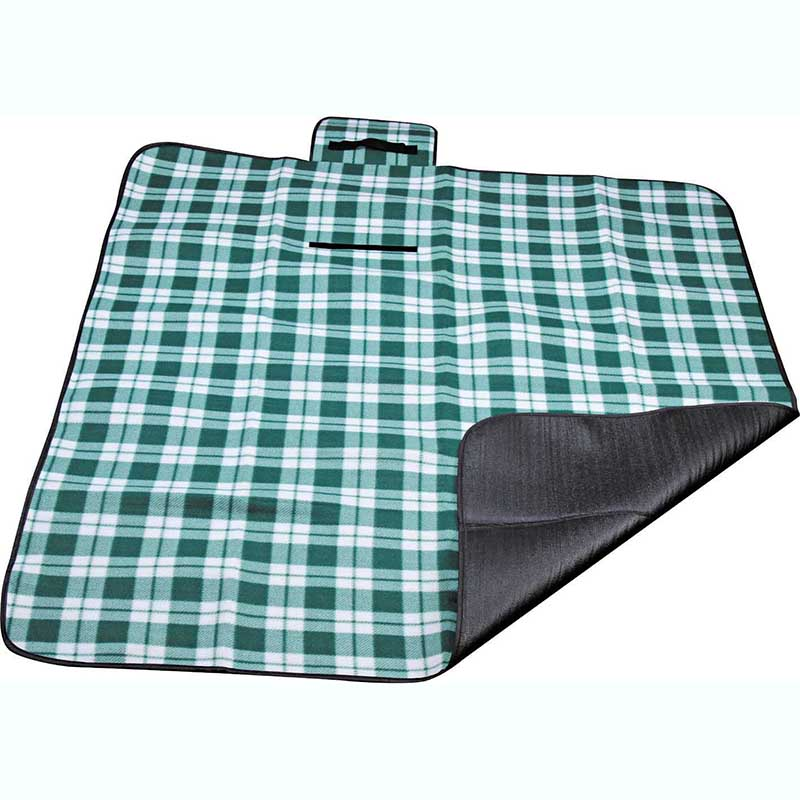 Factory Price For Black Picnic Rug - Polyester fleece picnic mat blanket with waterproof backing – Picvalue