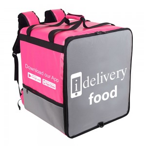 wholesale cooler backpack delivery food bag with custom logo