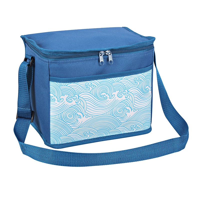 Well-designed Rolling Soft Cooler Bags - Polyester fabric cooler bag 10L with fashion design pocket   – Picvalue