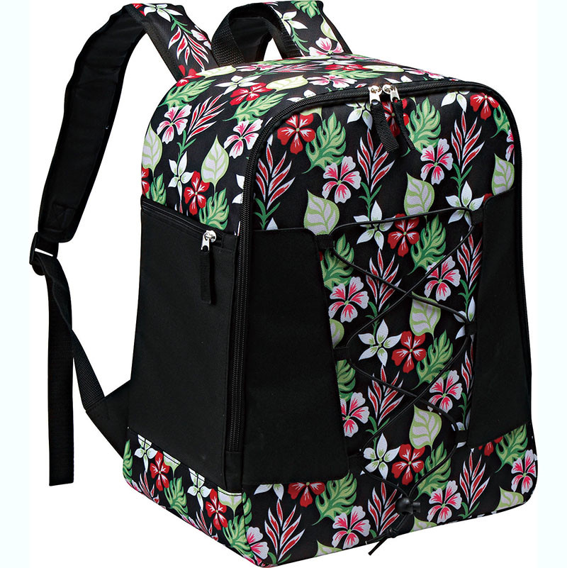 New Fashion Design for Cooler Bag Pink - Polyester fabric cooler backpack with fashion pattern – Picvalue