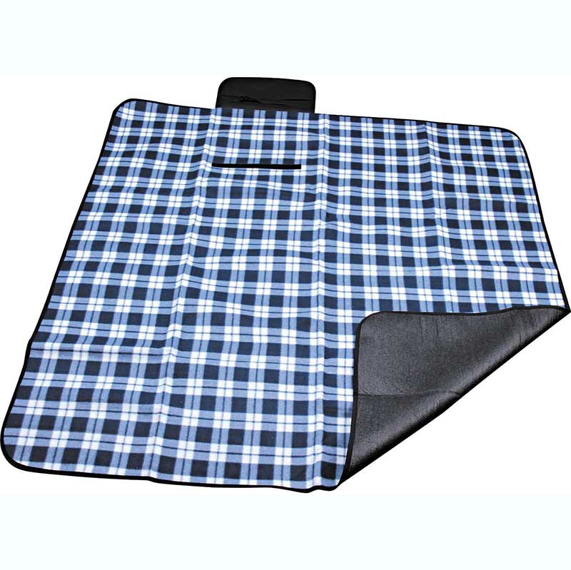 Good quality Extra Large Picnic Blanket - Polyester fleece picnic mat blanket with waterproof backing – Picvalue